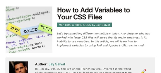How To Add Variables To Your CSS Files