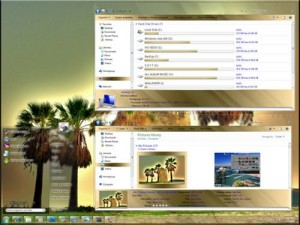 Gold Glass Windows 7 Theme